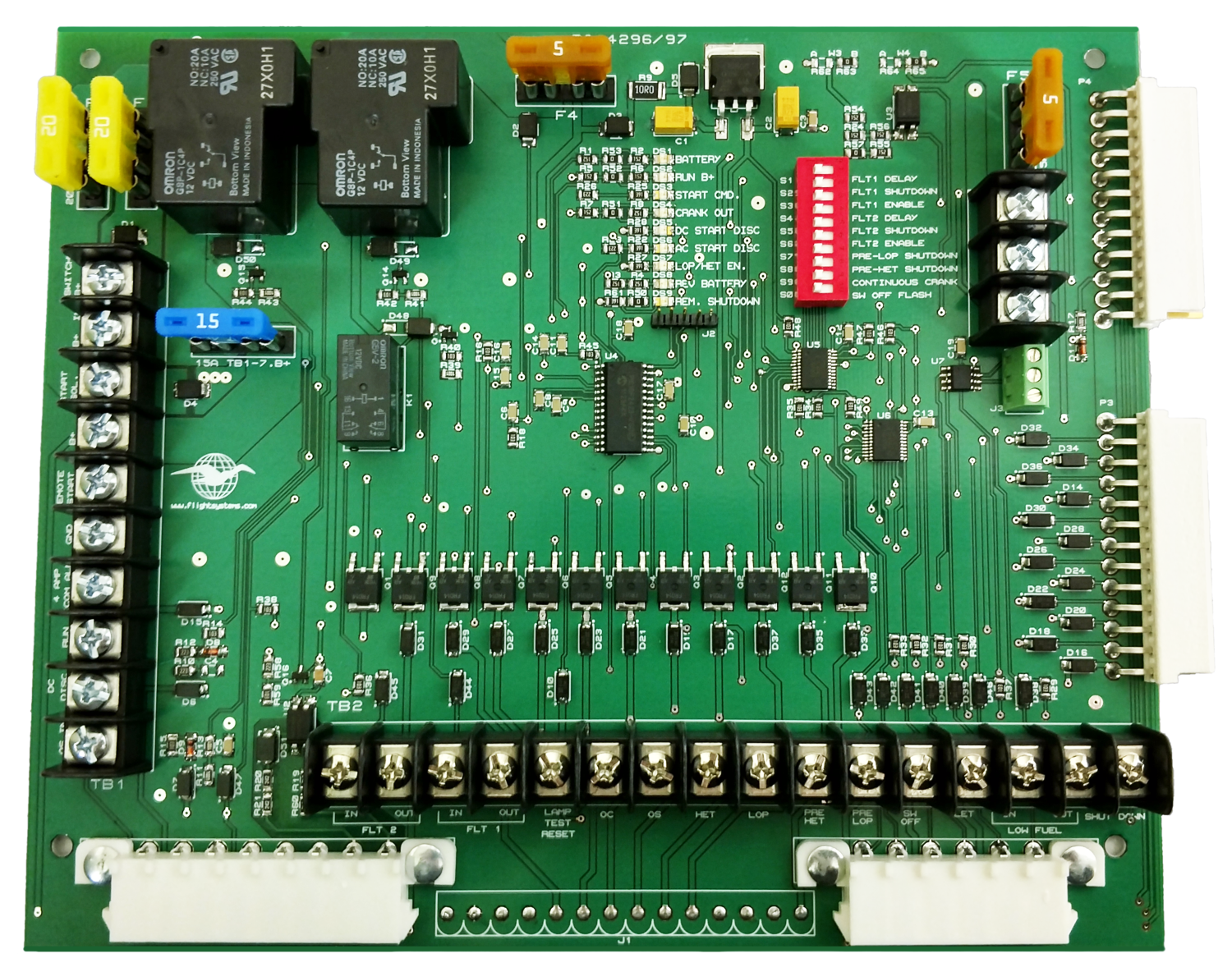 Onan Generator Voltage Regulator and Control Board Parts on